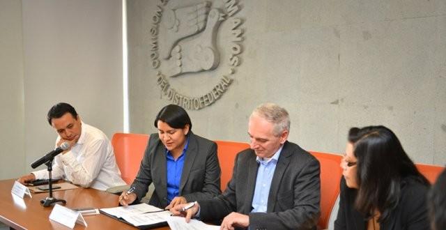 Galería: Firma del Convenio Marco de Colaboración con el Instituto de Acción Ciudadana para la Justicia y la Democracia