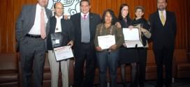 Ceremonia de entrega del Reconocimiento en Derechos Humanos Ponciano Arriaga Leija 2012