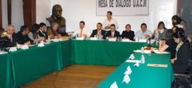 Mesa de diálogo presenta propuesta de acuerdo para solucionar conflicto en UACM