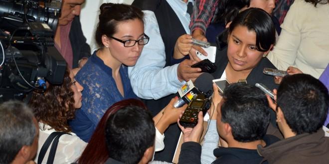 Entrevista a la Presidenta de la CDHDF, Doctora Perla Gómez Gallardo, al término del 2º Informe del Dr. Miguel Ángel Mancera, Jefe de Gobierno del Distrito Federal