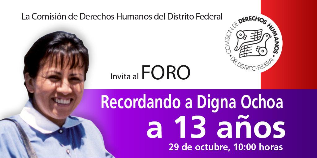 Recordando a Digna Ochoa A 13 años @ CDHDF | Ciudad de México | Distrito Federal | México