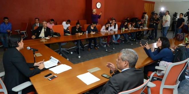 Transcripción de la sesión de preguntas y respuestas de la conferencia de prensa de la Dra. Perla Gómez Gallardo, Presidenta de la CDHDF, con motivo de su primer año de gestión