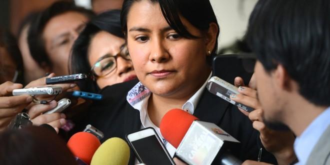 Entrevista a la Presidenta de la CDHDF, Doctora Perla Gómez Gallardo, en la Asamblea Legislativa del Distrito Federal