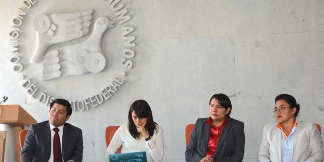Presidenta de la CDHDF sostiene reunión con dirigencia de la Unión Nacional de Trabajadores