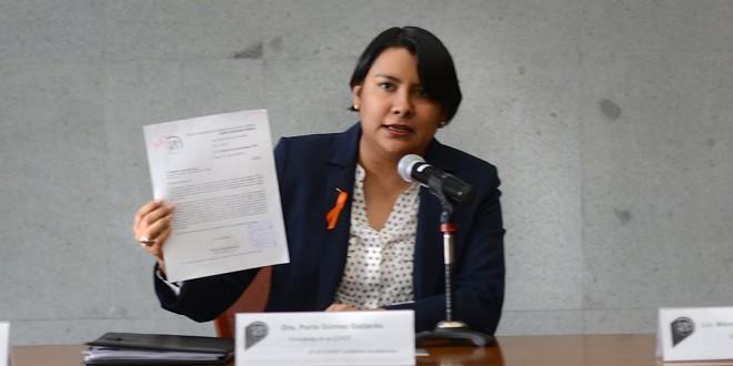 Palabras de la Presidenta de la CDHDF, Doctora Perla Gómez Gallardo, relacionadas con la presentación de la Recomendación 1/2015 emitida por este Organismo.