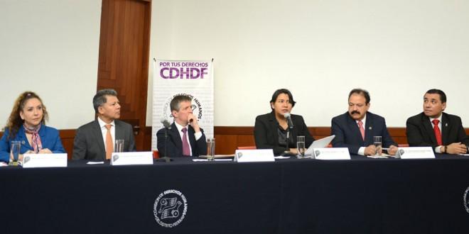 Personas en reclusión tienen derecho a servicios de salud local y federal sin distinciones en la Ciudad de México: CDHDF