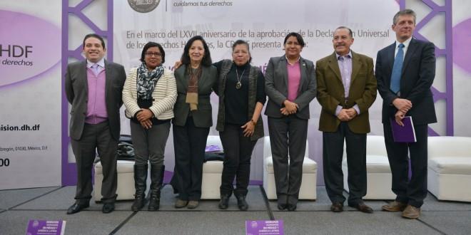 Galería: Presentación del libro  «Derechos Humanos en México y América Latina. Una Visión desde el Consejo de la CDHDF».