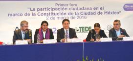 Transcripción de la entrevista a la Doctora Perla Gómez Gallardo, Presidenta de la CDHDF, después de acudir al Foro la Participación Ciudadana en el Marco de la Constitución de la Ciudad de México
