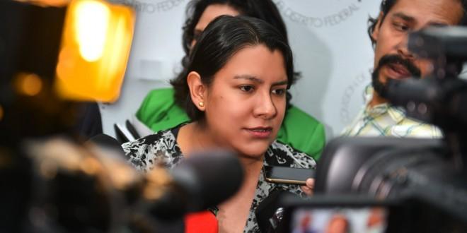 Entrevista a la Doctora Perla Gómez Gallardo, Presidenta de la CDHDF, al término de la presentación del Protocolo Interinstitucional de Atención Integral a Personas en Riesgo de Vivir en Calle e Integrantes de las Poblaciones Callejeras en la Ciudad de México