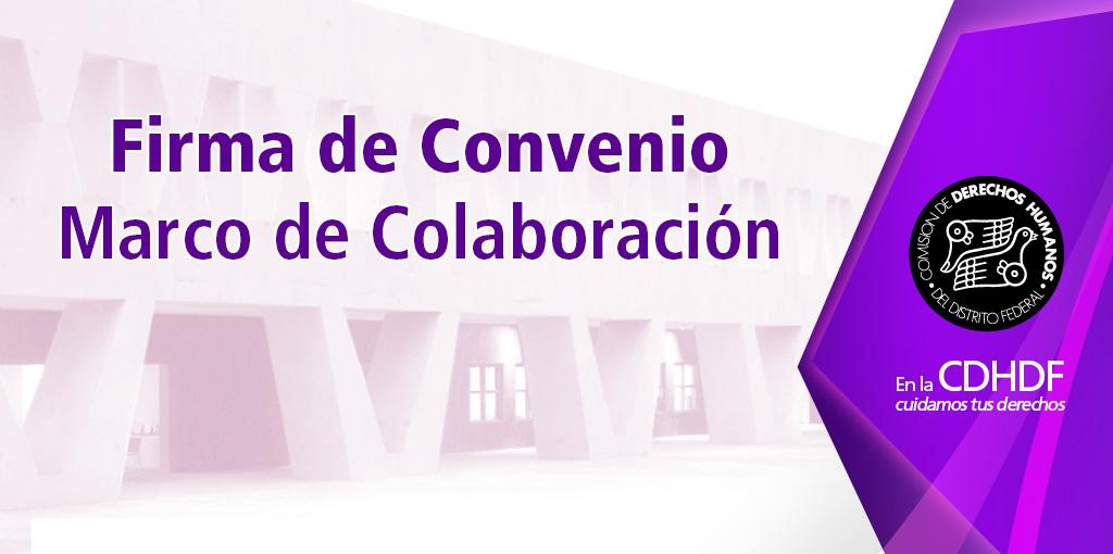 Firma de Convenio entre CDHDF y ALDF @ Sala de Consejo de la CDHDF