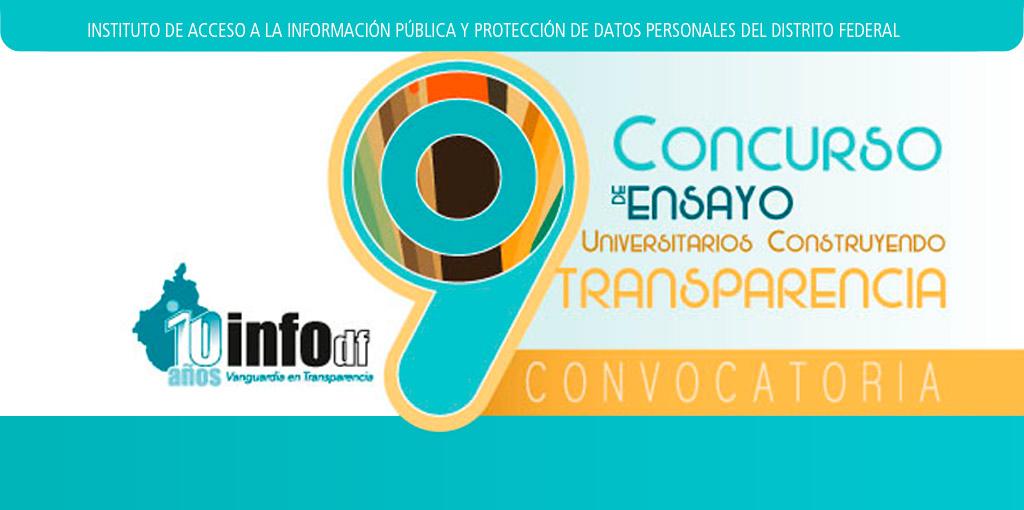 """Concurso de Ensayo """"Universitarios Construyendo Transparencia"""""""