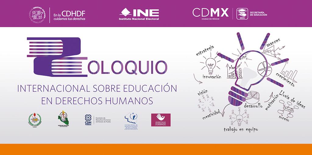 Coloquio Internacional sobre Educación en Derechos Humanos @ CDHDF