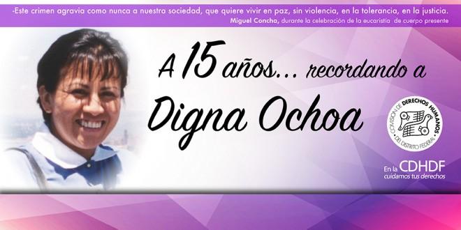 A 15 años… Recordando a Digna Ochoa