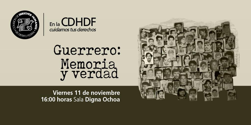 Documental Guerrero: Memoria y verdad