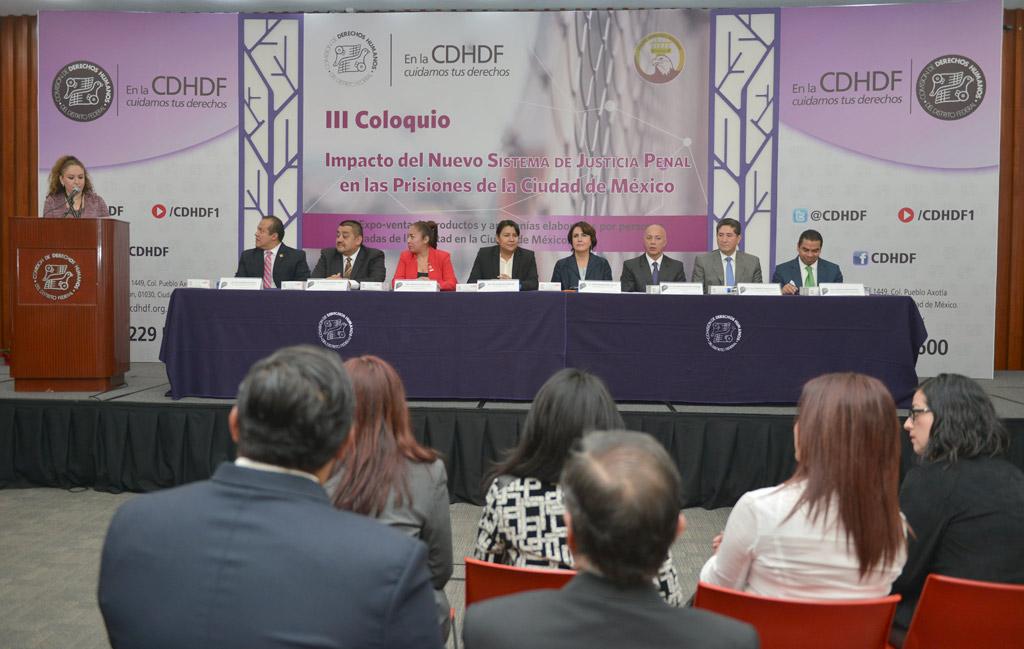 """Galería: Inauguración del III Coloquio: """"Impacto del Nuevo Sistema de Justicia Penal en las Prisiones de la Ciudad de México"""""""