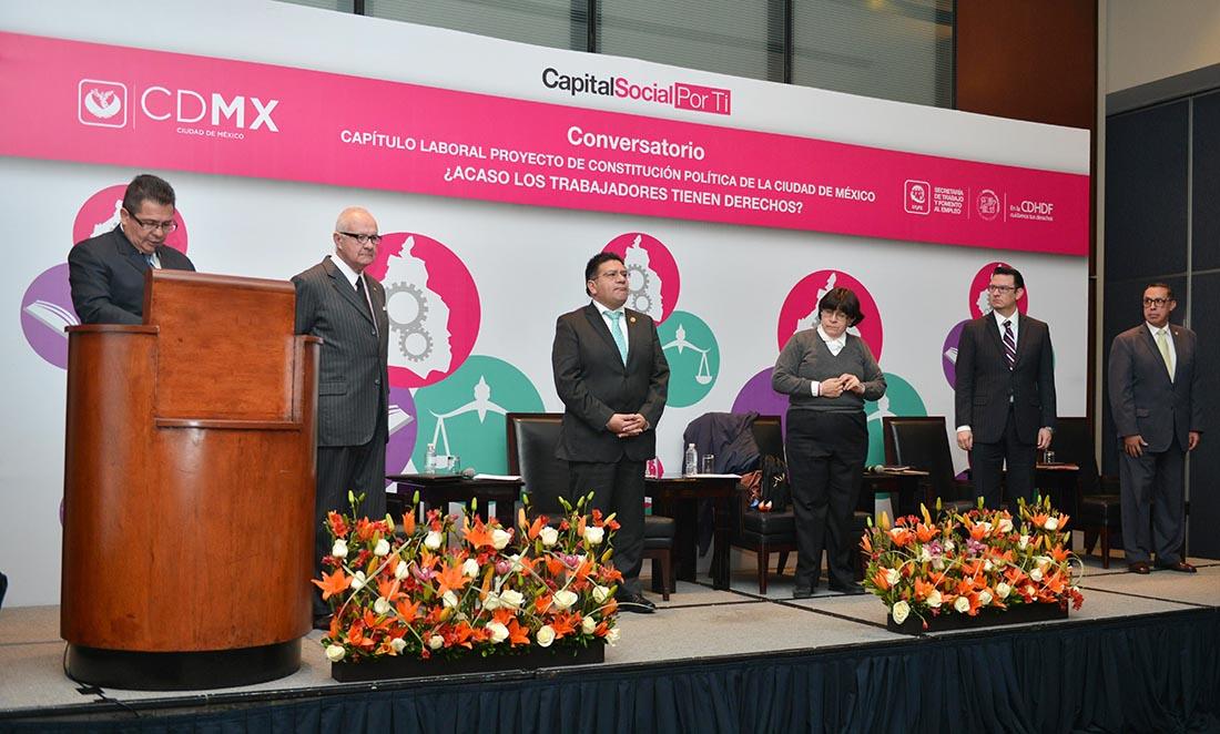 Galería: Conversatorio: Capítulo Laboral, Proyecto de Constitución Política de la CDMX