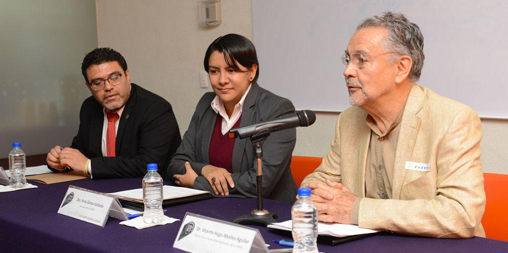 Logra CDHDF convenio de conciliación con la UACM
