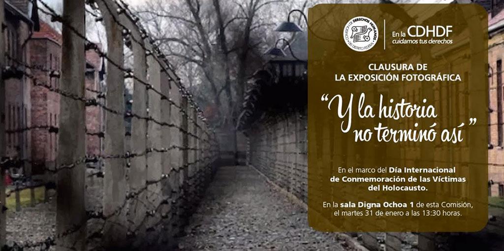 """Exposición fotográfica """"Y la historia no terminó así"""" @ CDHDF"""