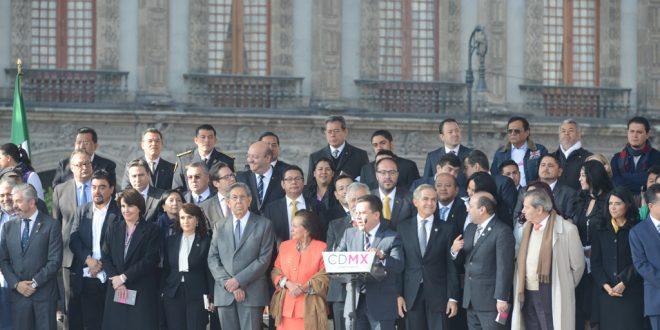 Galería: Publicación de la Constitución de la Ciudad de México