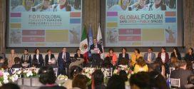 """Galería: Presidenta de la CDHDF asiste al Foro Global """"Ciudades y Espacios Públicos Seguros"""""""
