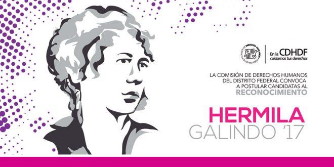 Convocatoria Hermila Galindo 2017