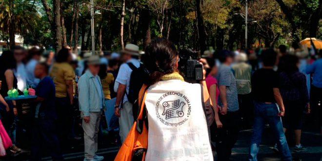 Galería: CDHDF monitorea marchas del 12 de febrero #MexicanosUnidos y #VibraMéxico