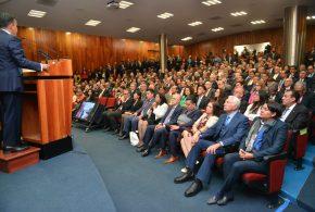 Galería: Ombudsperson capitalina asiste a Informe de Dr. Raúl Contreras Bustamante, en Facultad de Derecho UNAM.