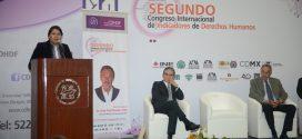 Discurso de la Presidenta de la CDHDF, Doctora Perla Gómez Gallardo, en el Homenaje al Doctor René Raúl Drucker Colín