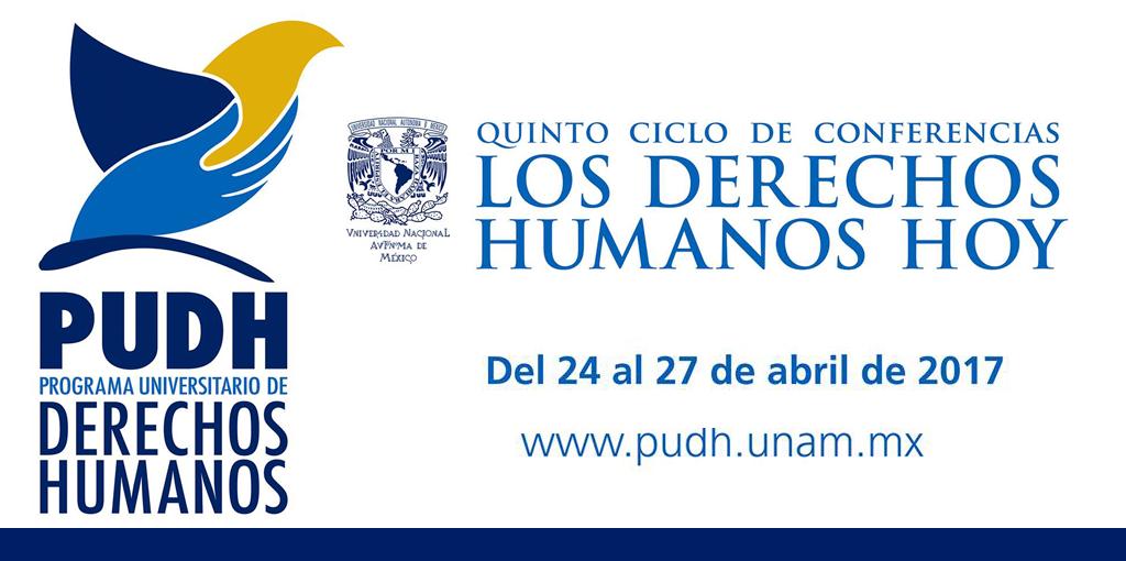 """Quinto ciclo de conferencias """"Los Derechos Humanos Hoy"""" @ Palacio de la Antigua Escuela de Medicina"""