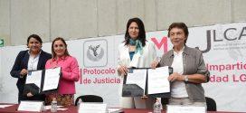 Galería: Protocolo de Actuación para la Impartición de Justicia dirigida a la comunidad LGBTTTI