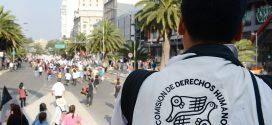 Galería: CDHDF acompañó marcha #Ayotzinapa31Meses