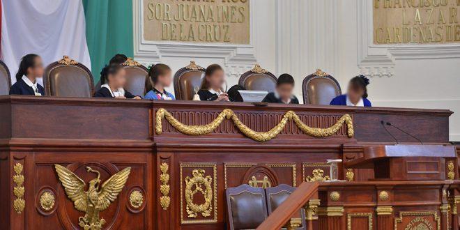 Galería: Entrega de resolutivos del 10° Parlamento de las Niñas y los Niños de México 2017.