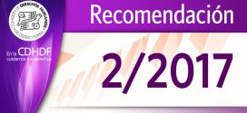 Recomendación 2/2017