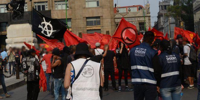 Galería: CDHDF acompañó movilizaciones por el Día del Trabajo