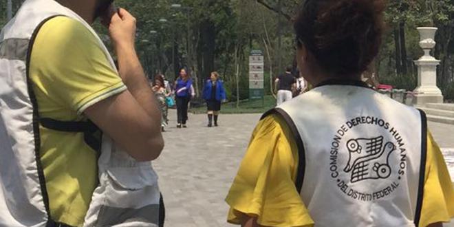 Galería: CDHDF acompaña a organizaciones que protestaron contra desapariciones forzadas.