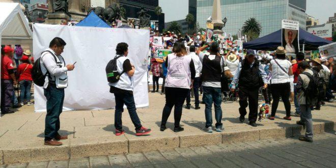 Galería: CDHDF acompañó VI Marcha de la Dignidad Nacional
