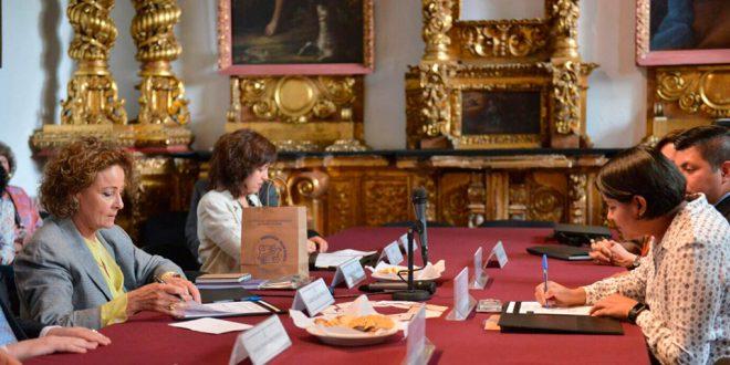 Galería: Firma de Convenio de Colaboración entre CDHDF y Claustro de Sor Juana