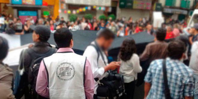 Galería: CDHDF acompañó marcha #NoAlSilencio