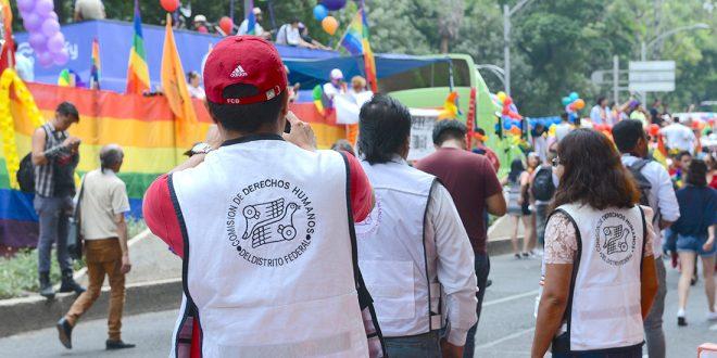 Galería: CDHDF acompañó XXXIX Marcha de La Diversidad Sexual