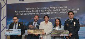El combate al tráfico ilícito de migrantes requiere de la cooperación de los actores involucrados en los países de origen, tránsito y destino