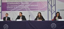 Galería: Seminario Taller sobre Capacidad Jurídica y Acceso a la Justicia de PcD