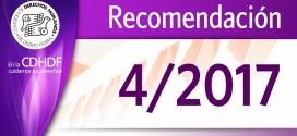 Recomendación 4/2017