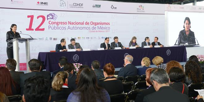 Palabras de la Presidenta de la CDHDF, Doctora Perla Gómez Gallardo, durante la inauguración del 12º Congreso Nacional de OPAM