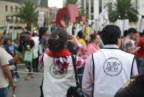 Galería: CDHDF acompañó marcha #Ayotzinapa34Meses