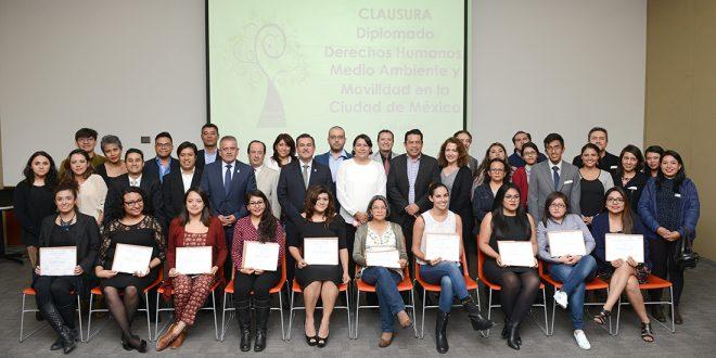 Galería: Clausura del Diplomado DDHH, Medio Ambiente y Movilidad en la CDMX