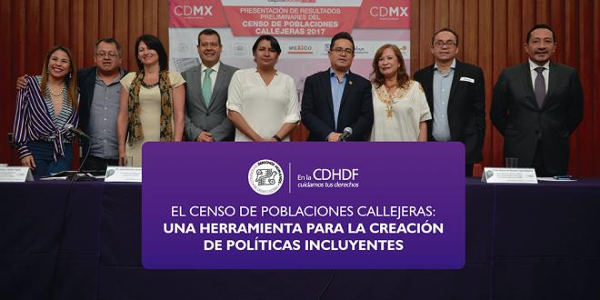 El Censo de Poblaciones Callejeras: Una herramienta para la creación de políticas incluyentes