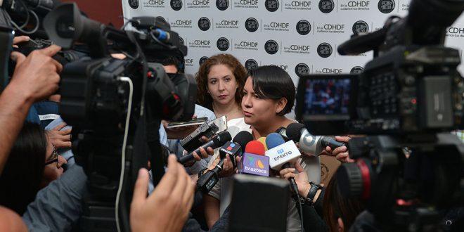 Entrevista a la Presidenta de la CDHDF, Doctora Perla Gómez Gallardo, en la Presentación de Resultados Preliminares del Censo de Poblaciones Callejeras