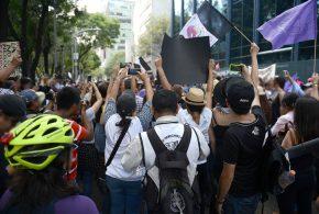 Galería: CDHDF acompañó marcha #YoSoyMara