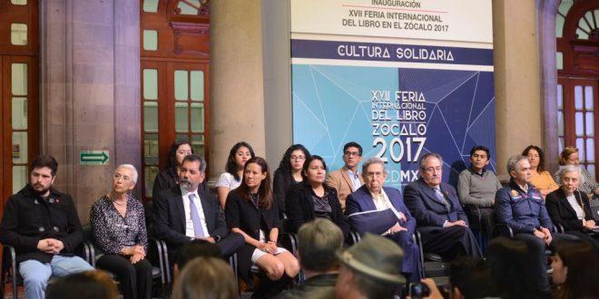 Entrevista a la Presidenta de la CDHDF, Doctora Perla Gómez Gallardo, en la XVII Feria Internacional del Libro 2017