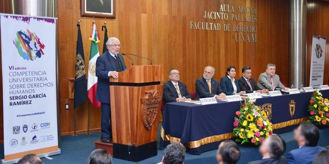 Galería: Inauguración VI edición de la Competencia Universitaria sobre DDHH Sergio García Ramírez